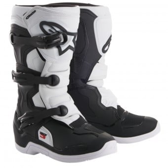 Bottes Cross Alpinestars Tech 3S Youth Black White