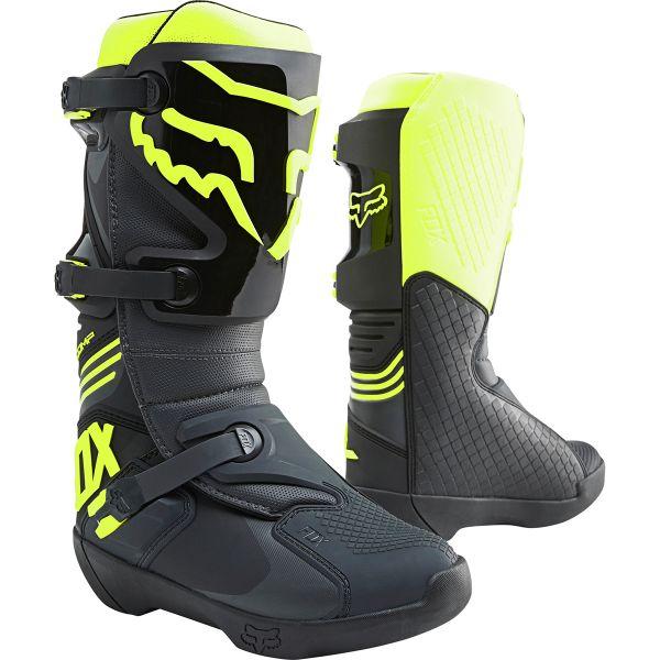 Bottes Cross FOX Comp Black Yellow Boot
