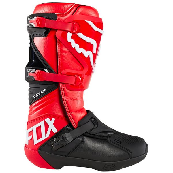 FOX Comp Boot Flame Red