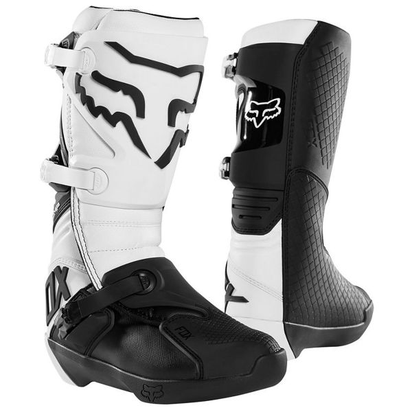 Bottes Cross FOX Comp Boot White