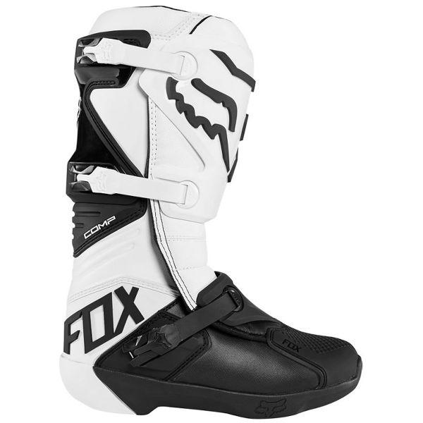 FOX Comp Boot White