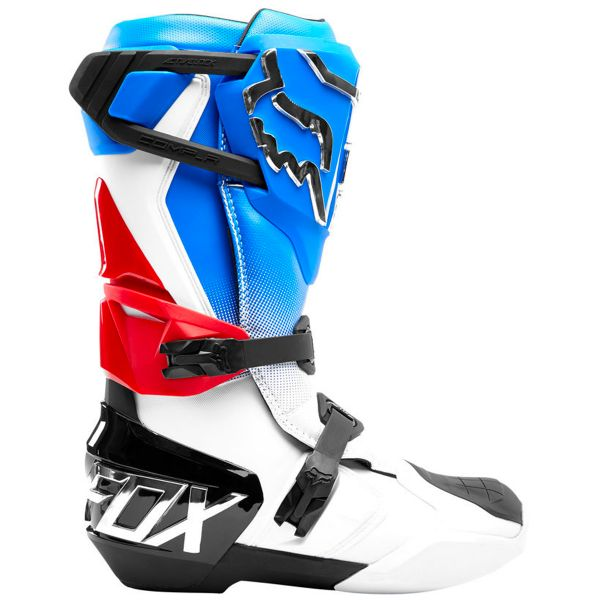 FOX Comp R Boot Blue Red
