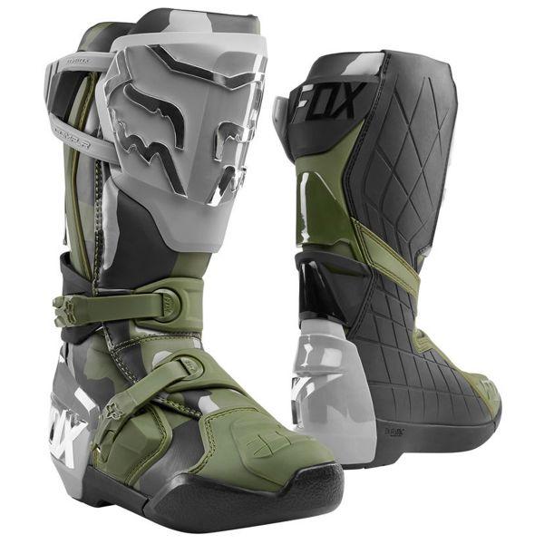 Bottes Cross FOX Comp R Boot Camo