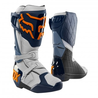 Bottes Cross FOX Comp R Navy Orange