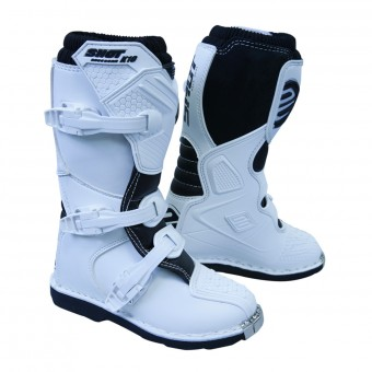 Bottes Cross SHOT K10 2.0 Blanc