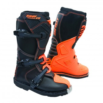 Bottes Cross SHOT K10 2.0 Orange Fluo
