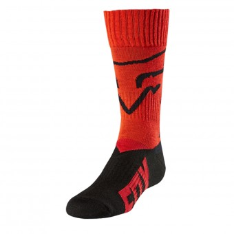 Chaussettes Cross FOX Youth MX Enfant Red 003