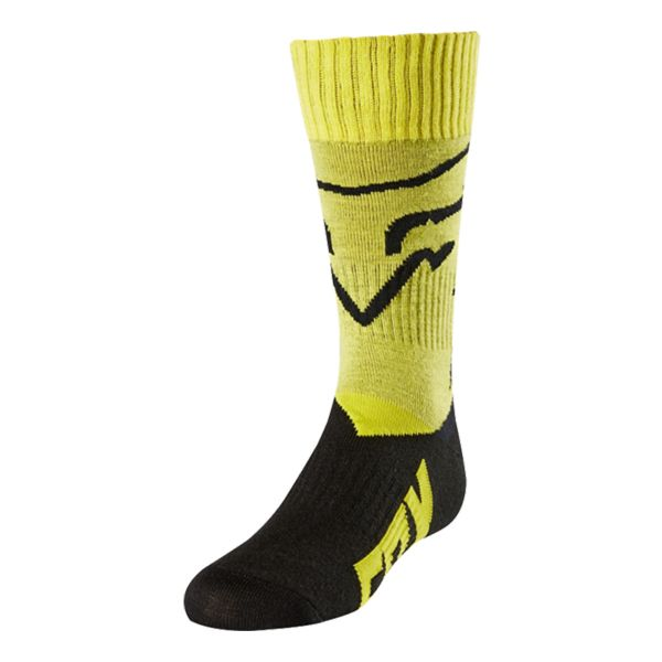 Chaussettes Cross FOX Youth MX Enfant Yellow 005