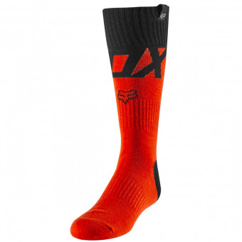 Chaussettes Cross FOX Sock Fyce Fluo Orange Enfant