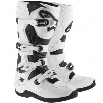 Bottes Cross Alpinestars TECH 5 White