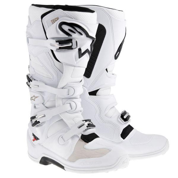 Bottes Cross Alpinestars TECH 7 White