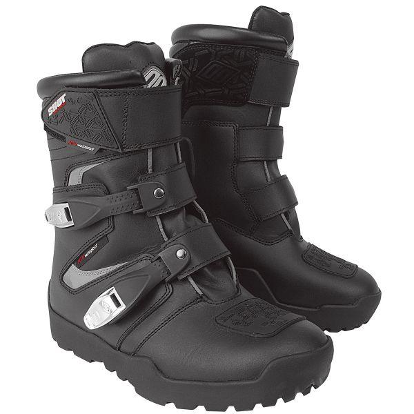 Bottes Cross SHOT ATV Quad Black Shoes