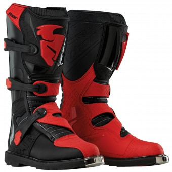 Bottes Cross Thor Blitz Black Black Red Enfant