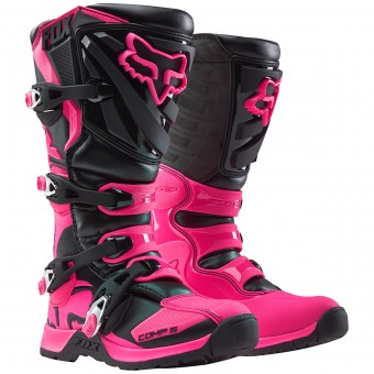 Bottes Cross FOX Comp 5 Black Pink Womens (285)