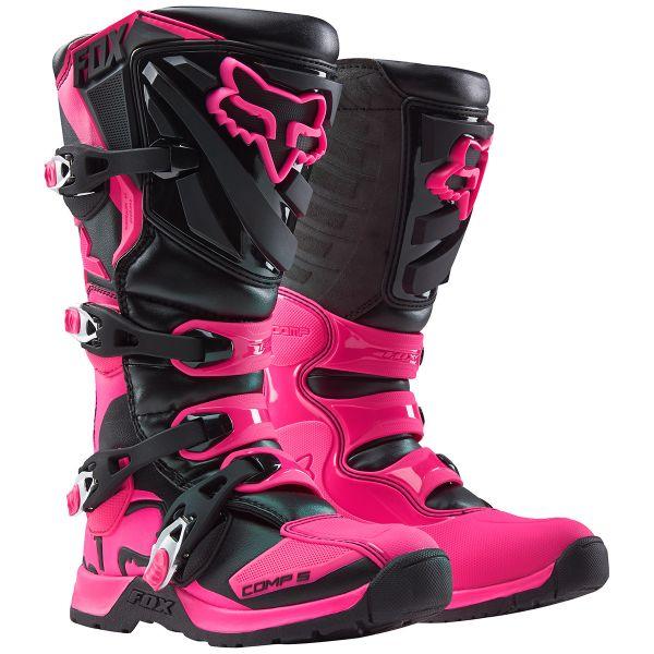 Bottes Cross FOX Comp 5 Black Pink Womens (285)