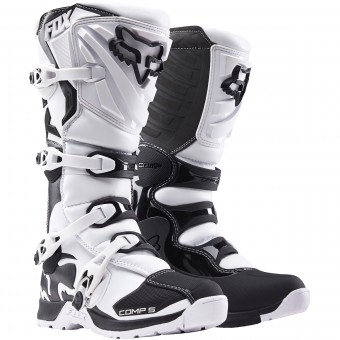 Bottes Cross FOX Comp 5 White (008)