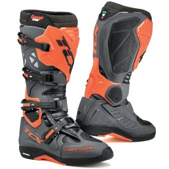 Bottes Cross TCX Comp Evo Michelin Dark Grey Orange