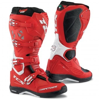 Bottes Cross TCX Comp Evo Michelin Red White