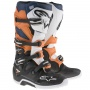 Bottes Cross Alpinestars TECH 7 Black Orange White Blue
