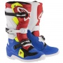 Bottes Cross Alpinestars TECH 7 S Blue Red Yellow Fluo Enfant