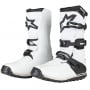 Bottes Cross Alpinestars Tech-T White Black