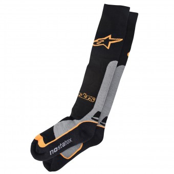 Chaussettes Cross Alpinestars Pro Coolmax Socks Orange
