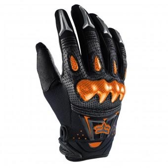 Gants Cross FOX Bomber Black Orange