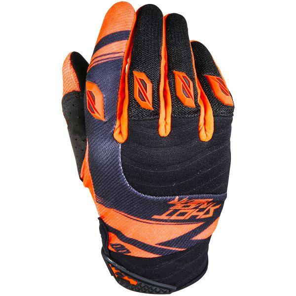 Gants Cross SHOT Contact Claw Neon Orange Black