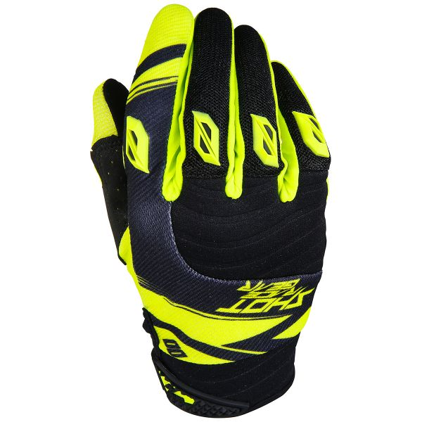 Gants Cross SHOT Contact Claw Neon Yellow Black