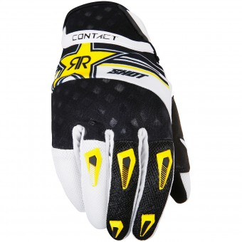 Gants Cross SHOT Contact Replica Rockstar Yellow