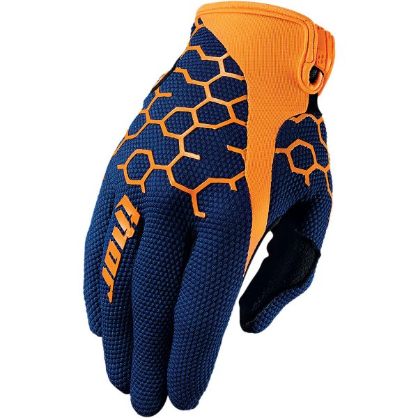 Gants Cross Thor Draft Comb Navy Orange