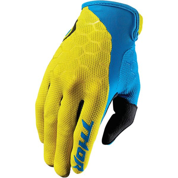 Gants Cross Thor Draft Indi Yellow Blue