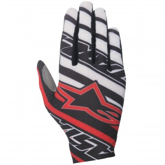 Gants Cross Alpinestars Dune Black Red