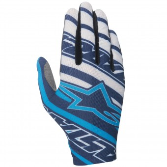 Gants Cross Alpinestars Dune Navy Cyan