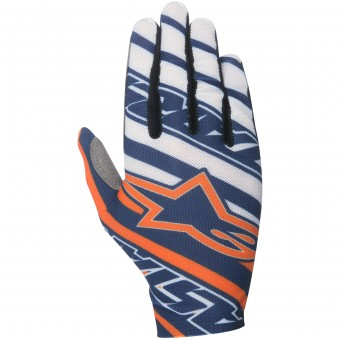 Gants Cross Alpinestars Dune Navy Orange