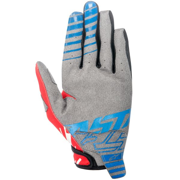 Gants Cross Alpinestars Racer Braap Blue Red Enfant