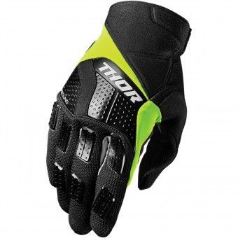 Gants Cross Thor Rebound Black Lime