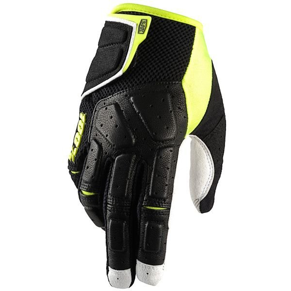 Gants Cross 100% Simi Black Lime