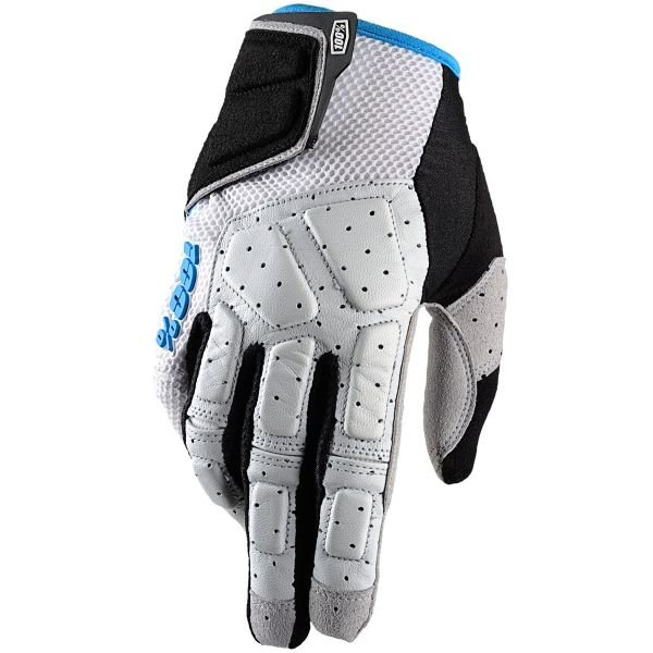 Gants Cross 100% Simi Grey Cyan