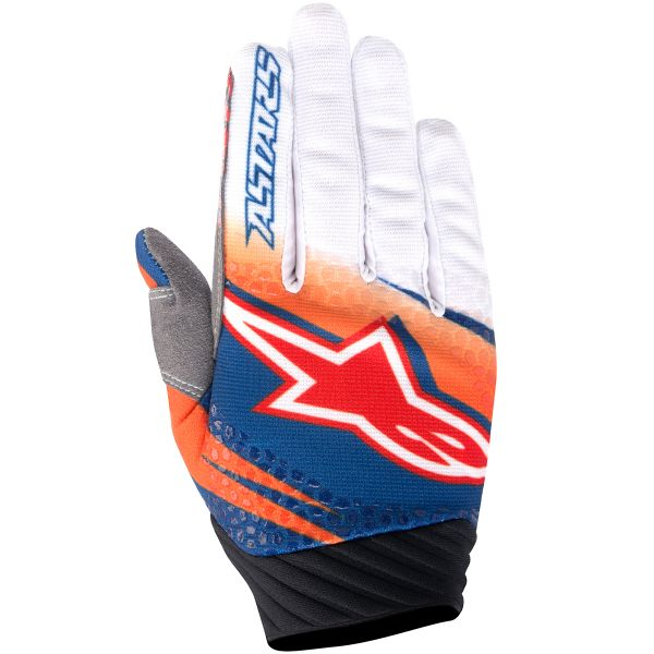 Gants Cross Alpinestars Techstar Venom Orange
