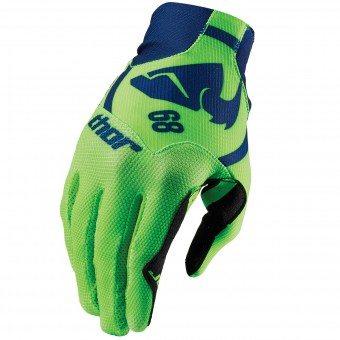 Gants Cross Thor Void Plus Gasket Navy Green