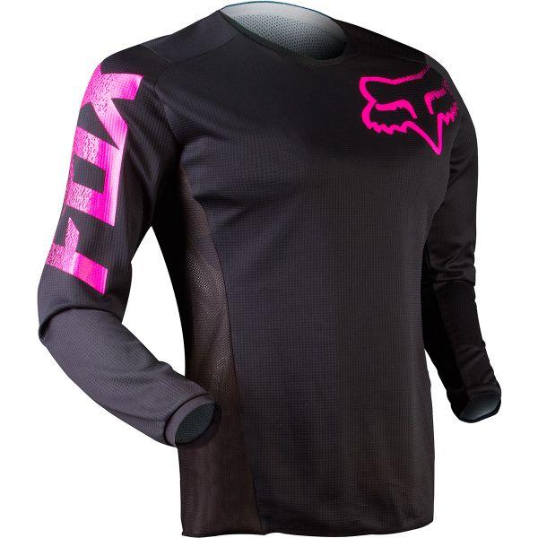 Maillot Cross FOX Blackout Black Pink 285