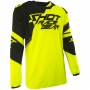 Maillot Cross SHOT Contact Claw Neon Yellow