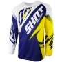 Maillot Cross SHOT Contact Fast Blue Yellow