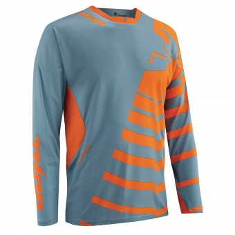 Maillot Cross Thor Core Orbit Steel Orange