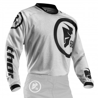 Maillot Cross Thor Phase Gasket Heather Enfant