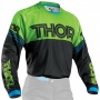 Maillot Cross Thor Phase Hyperion Black Green