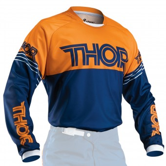 Maillot Cross Thor Phase Hyperion Navy Orange