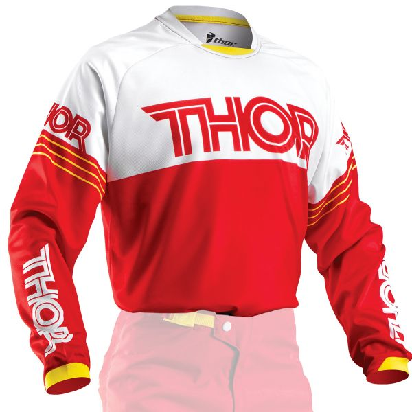 Maillot Cross Thor Phase Hyperion Red Enfant