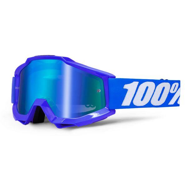 Masque Cross 100% Accuri Reflex Blue